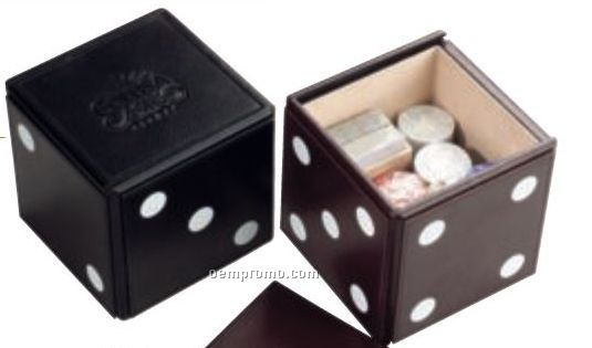 The Player Leather Box & Poker Game