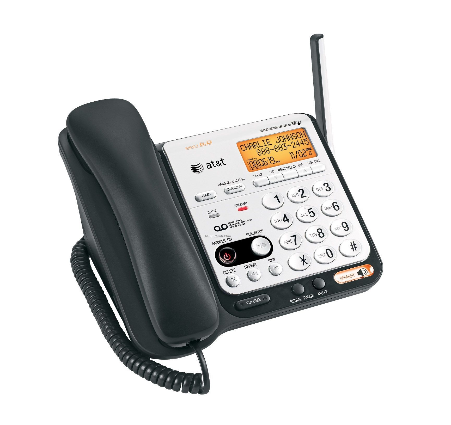 At&T Dect 6.0 Digital Dual Handset Phone System