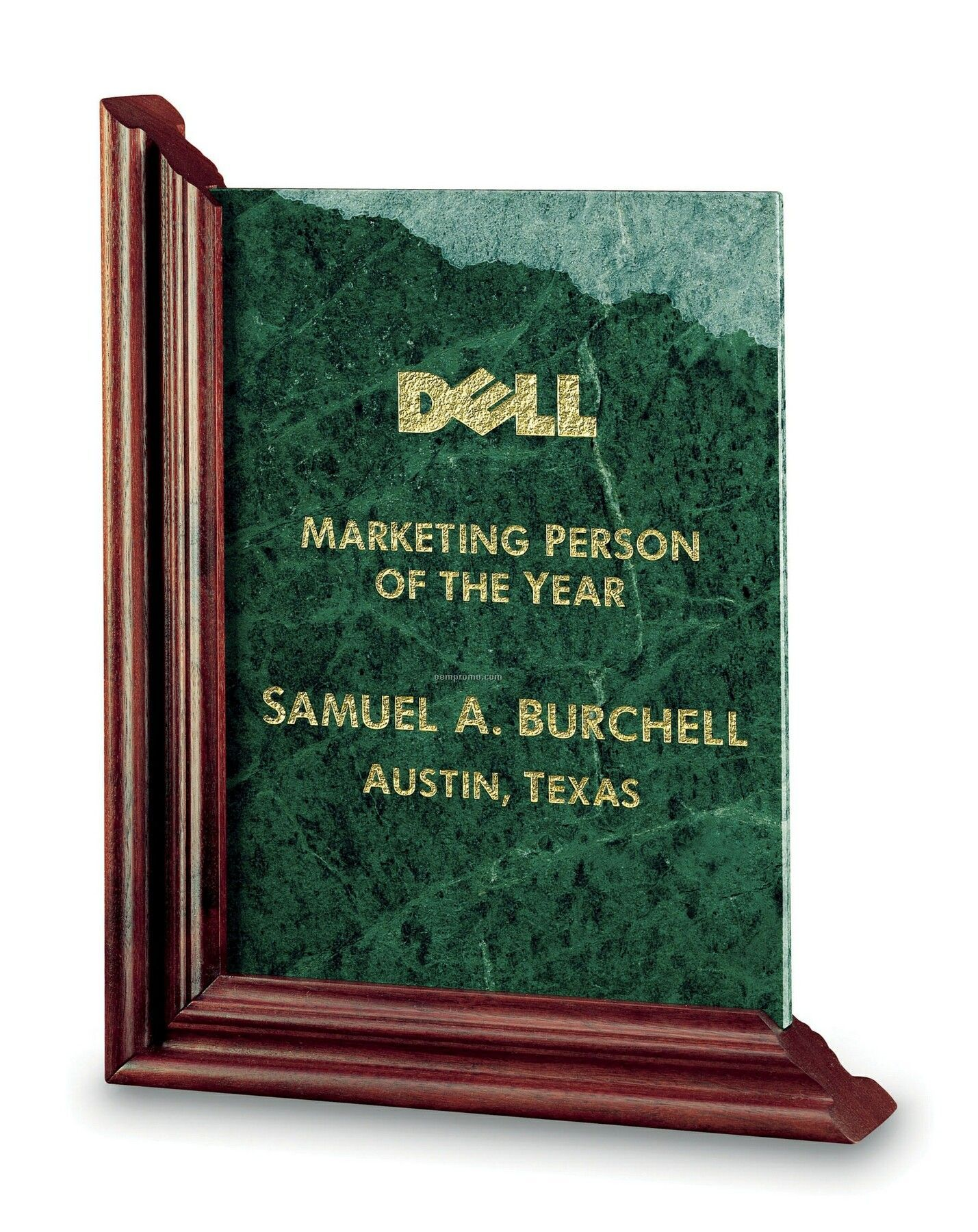 Large Fidelity Frame Award (Green Marble)