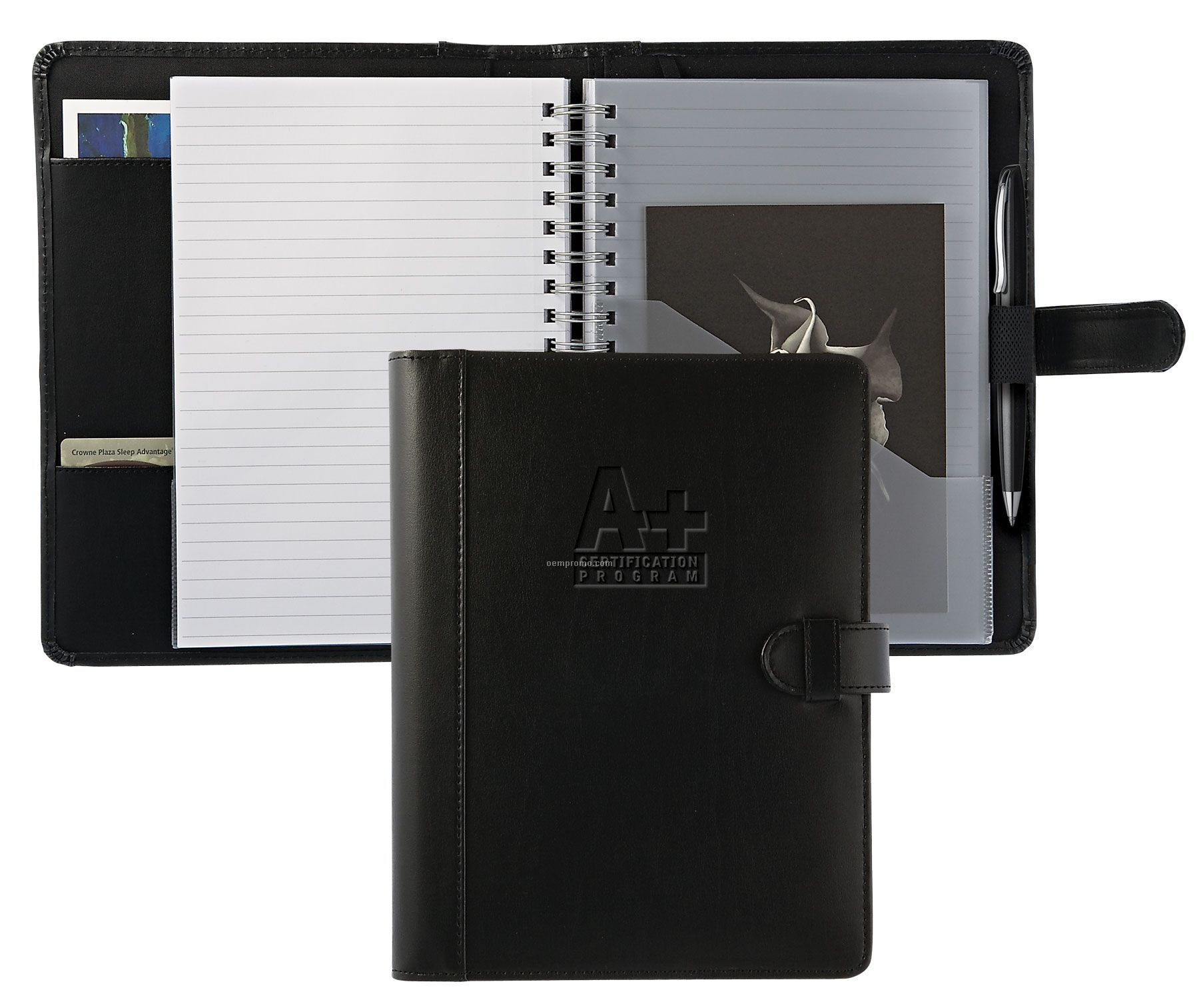 """Accent Large 7"""" X 10"""" Leather Journal"""