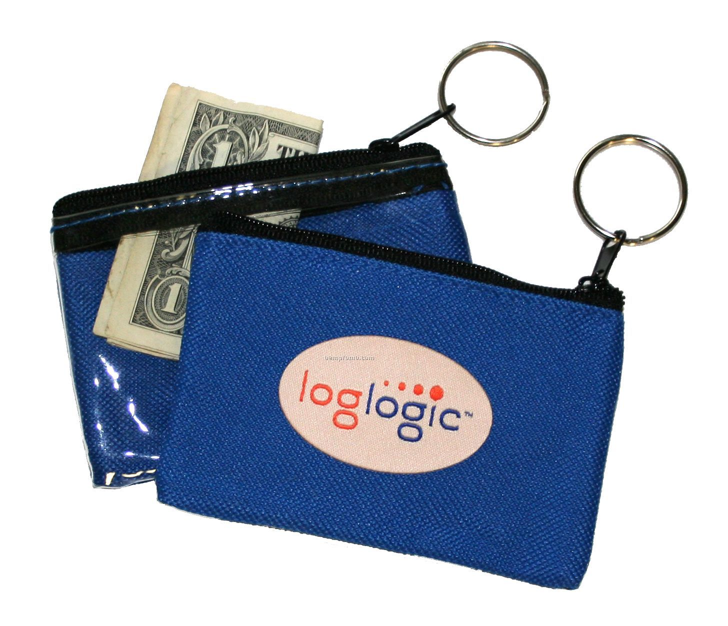 Coin Pouch With Elite Fabric Sticker