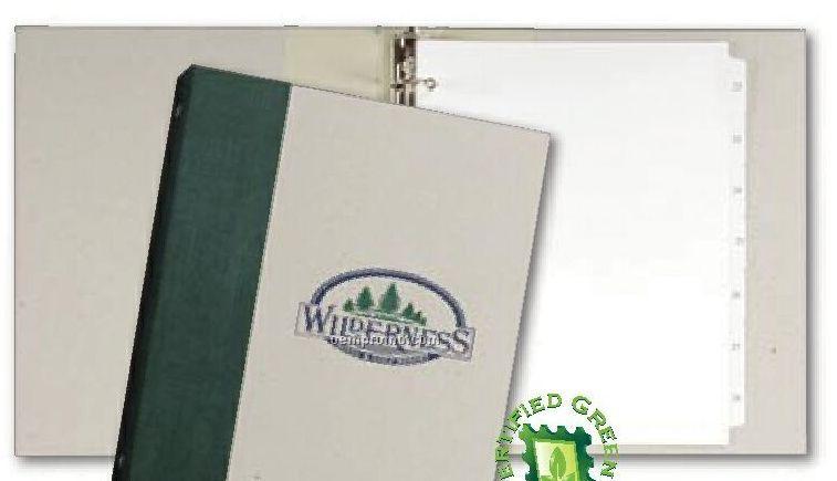 "Graphikgreen Spine Wrap Binders (2"" Ring)"