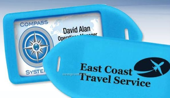 Neon Luggage Tag (Imprinted)