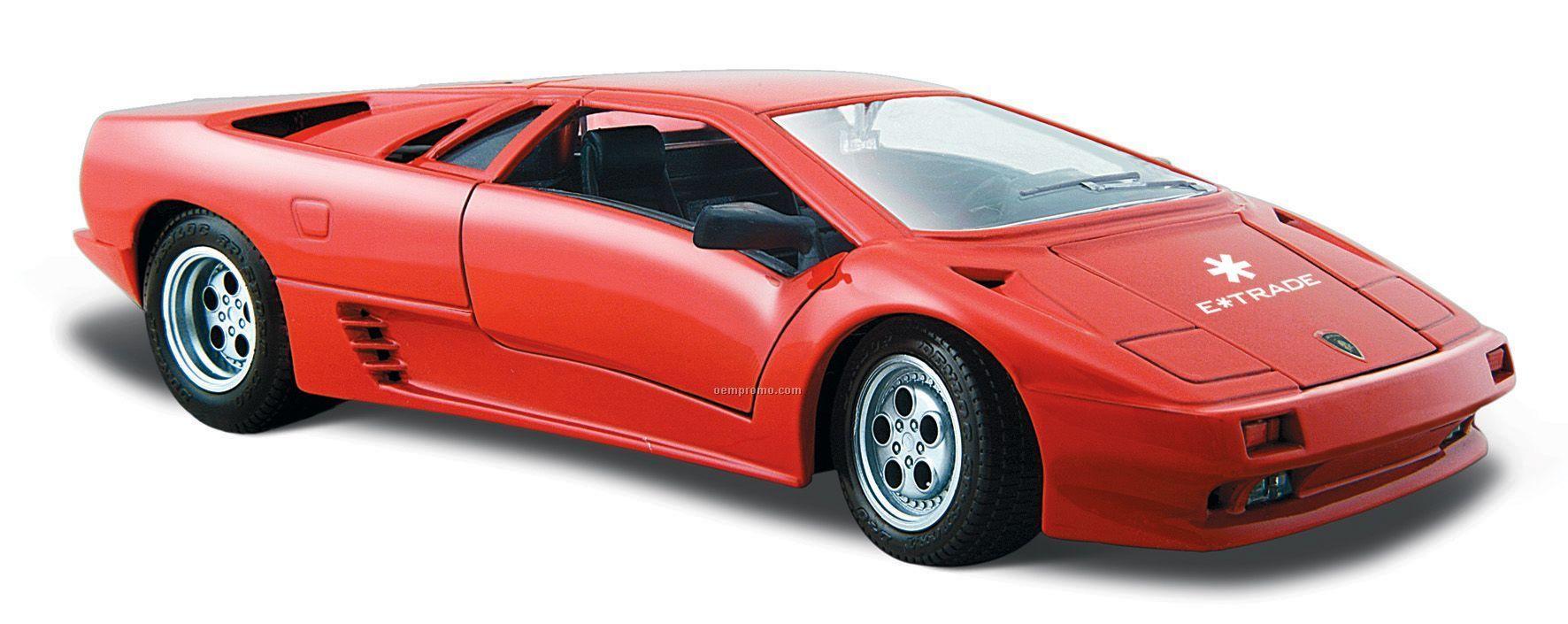 """7""""X2-1/2""""X3"""" Lamborghini Diablo Sports Car Die Cast Replica"""