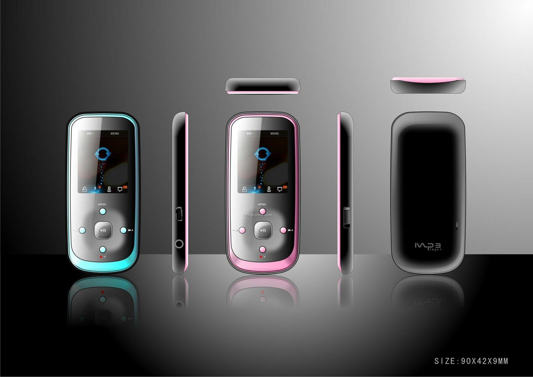 Colored Digital Mp4 Player (8 Gb)