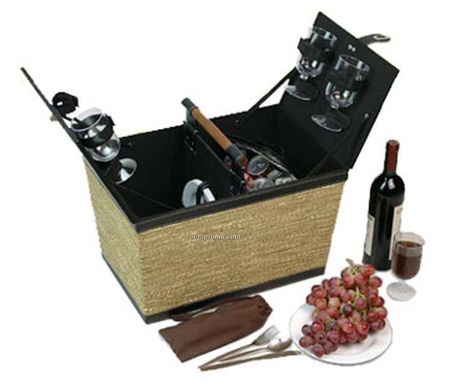 Seagrass Picnic Basket Box