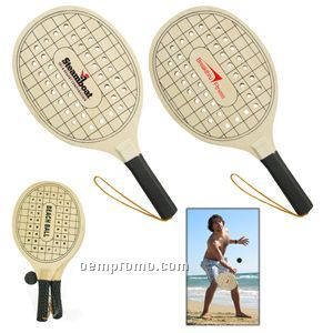 The Beach Break Paddle Ball Set - 24 Hour Production