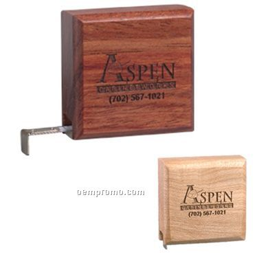 6 Ft Wooden Tape Measure 6 Ft Wooden Tape Measure (Laser Engrave)