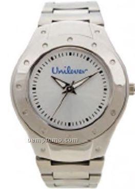 Pedre Men's Empire Metal Watch W/ Stainless Steel Bracelet