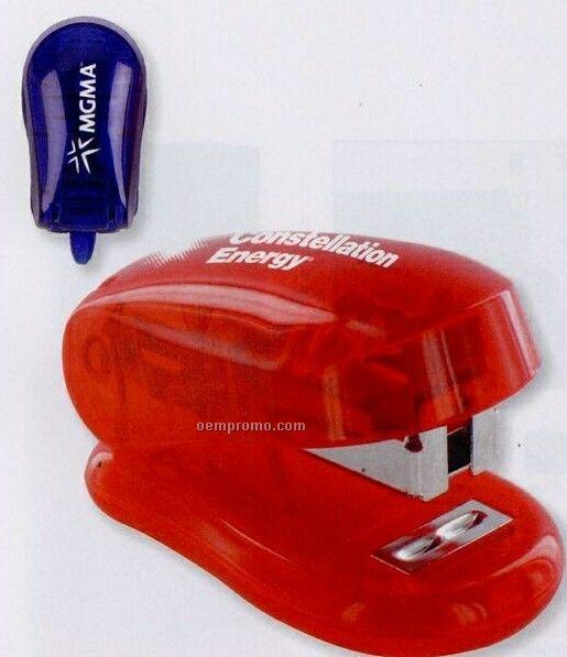 Mini Stapler W/ Staple Remover