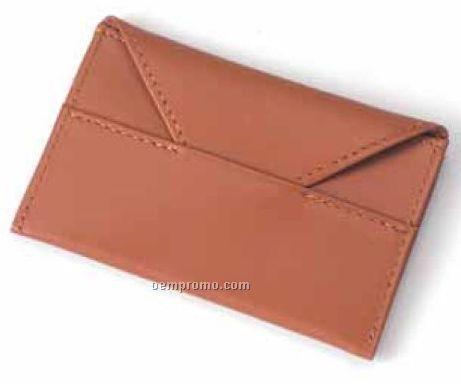 Slim Card Envelope - Bridle Leather