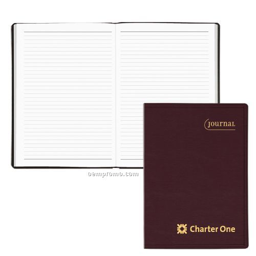 Soleil Ruled Journal W/ Bonded Leather Cover