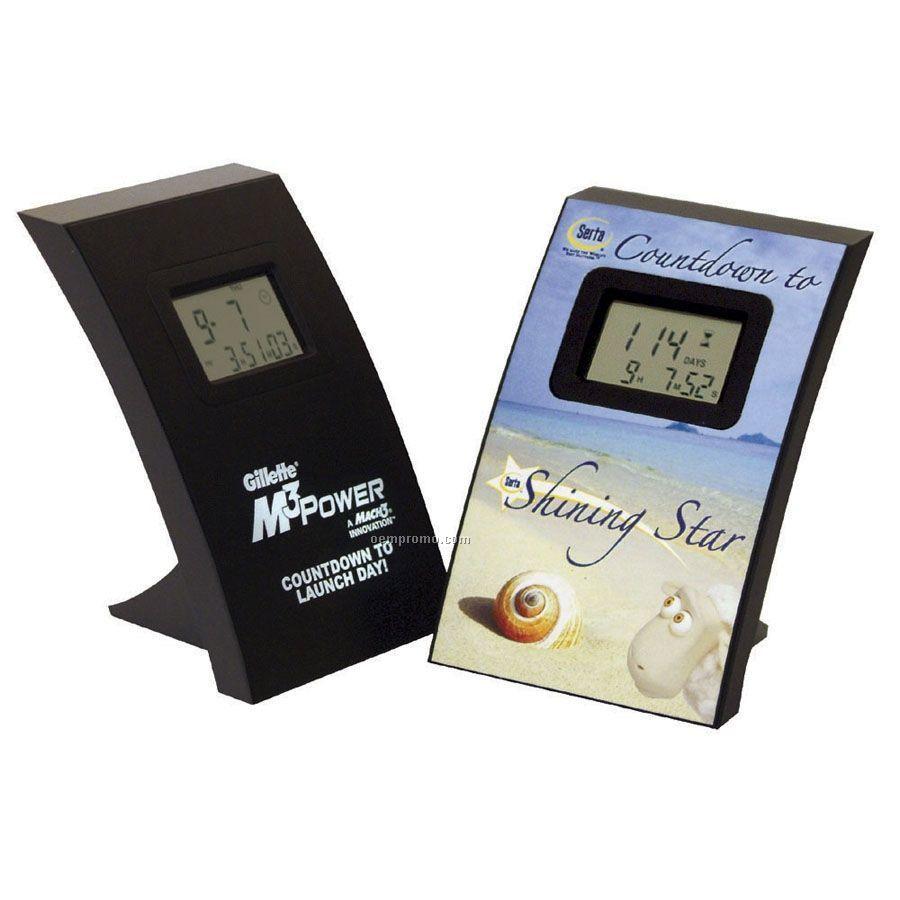 Wall/ Desk Countdown Lcd Clock