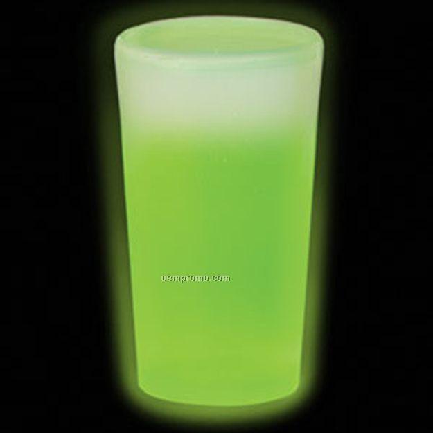 12 Oz. Green Glow Cup
