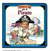 Picture Me As A Pirate Children's Book