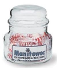 15 Oz. Glass Candy Jar