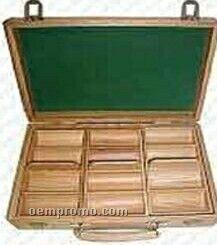 300 Piece Poker Chip Set W/ Oak Case