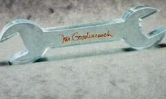 Acrylic Paperweight Up To 20 Square Inches / Wrench