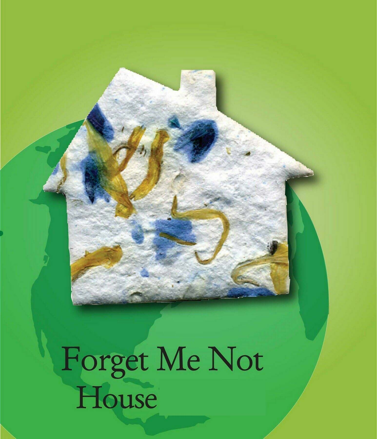 Forget Me Not House Handmade Seed Plantable Mini