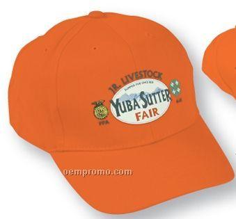 The Bayshore Cotton Cap - Solid & 2 Tone Color Options (Suede Puff)