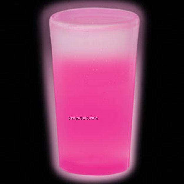 12 Oz. Pink Glow Cup