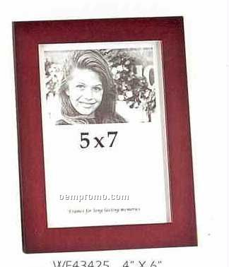 """Picture Frame Collection Trenton Burgundy (5""""X7"""")"""