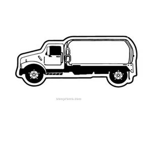 Stock Shape Pumper Truck Recycled Magnet