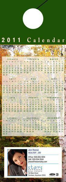 Calendar Door Hanger