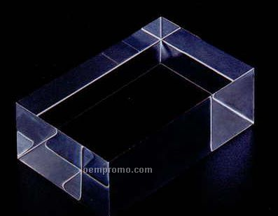 Large block acrylic specialty base 1 x5 x5 china for Large acrylic block
