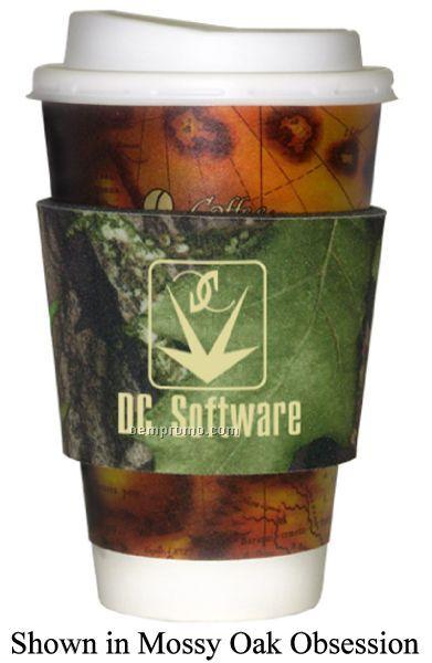 Mossy Oak Licensed Camo Premium Collapsible Foam Coffee Wraps