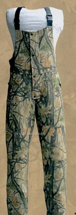 Pureland Wool Bib Overall Wood'n Trail Camouflage (M-xl)