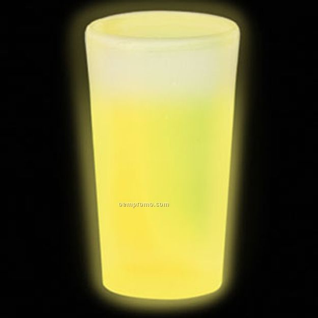 12 Oz. Yellow Glow Cup