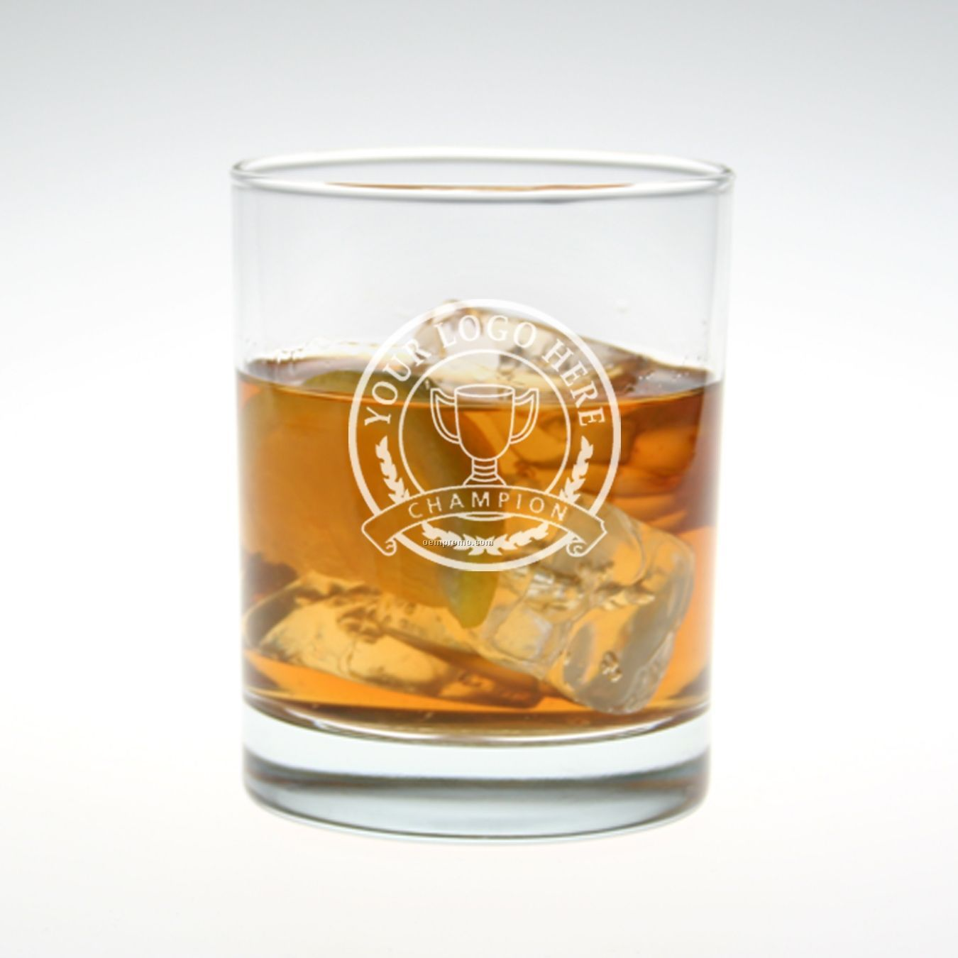 14 Oz. Reserve Double Old Fashioned Glass (Set Of 2 - Deep Etch)