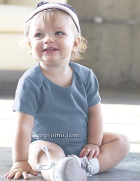 Bella Baby Short Sleeve Onesie (3m-24m)