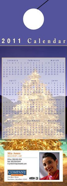 """Calendar Door Hanger (4"""" X 11"""")"""