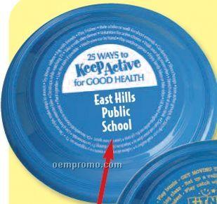 Fitness Awareness Imprintable High Flyer Discs