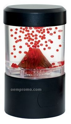 Nature's Fire Mini Volcano Interactive Sculpture W/ LED