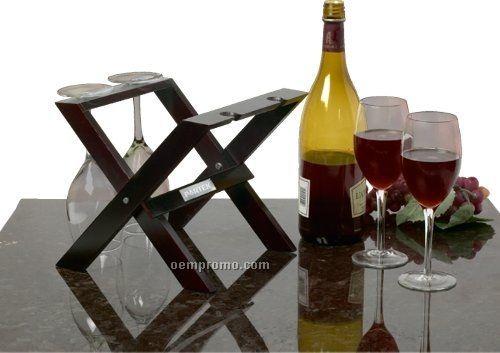 Wooden Wine Presenter