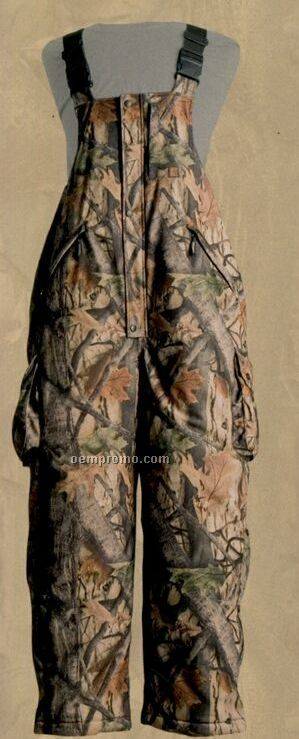 Wood'n Trail Camouflage 6 Pocket Exodry Membrane Insulated Bib Overall