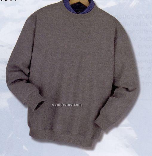 Long Sleeve V-notch Sweatshirt