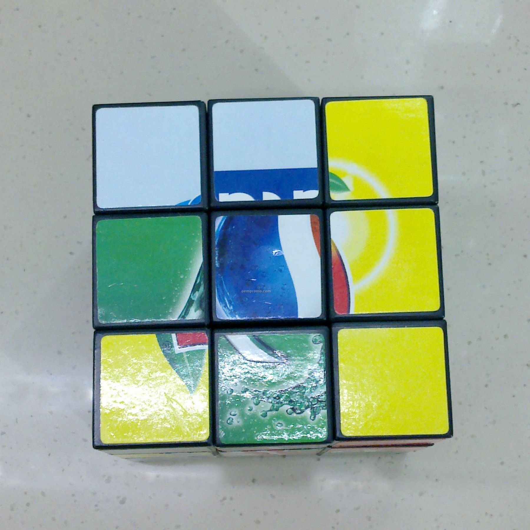 Magic Cube Puzzle With Picture