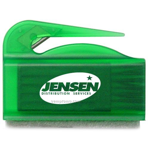 Combo Letter Opener / Brush And Screen Sweeper