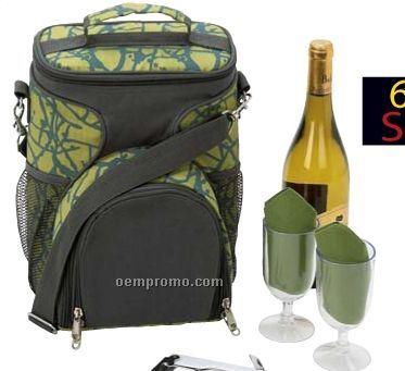 Maxam 6 PC Wine Picnic Set For Two