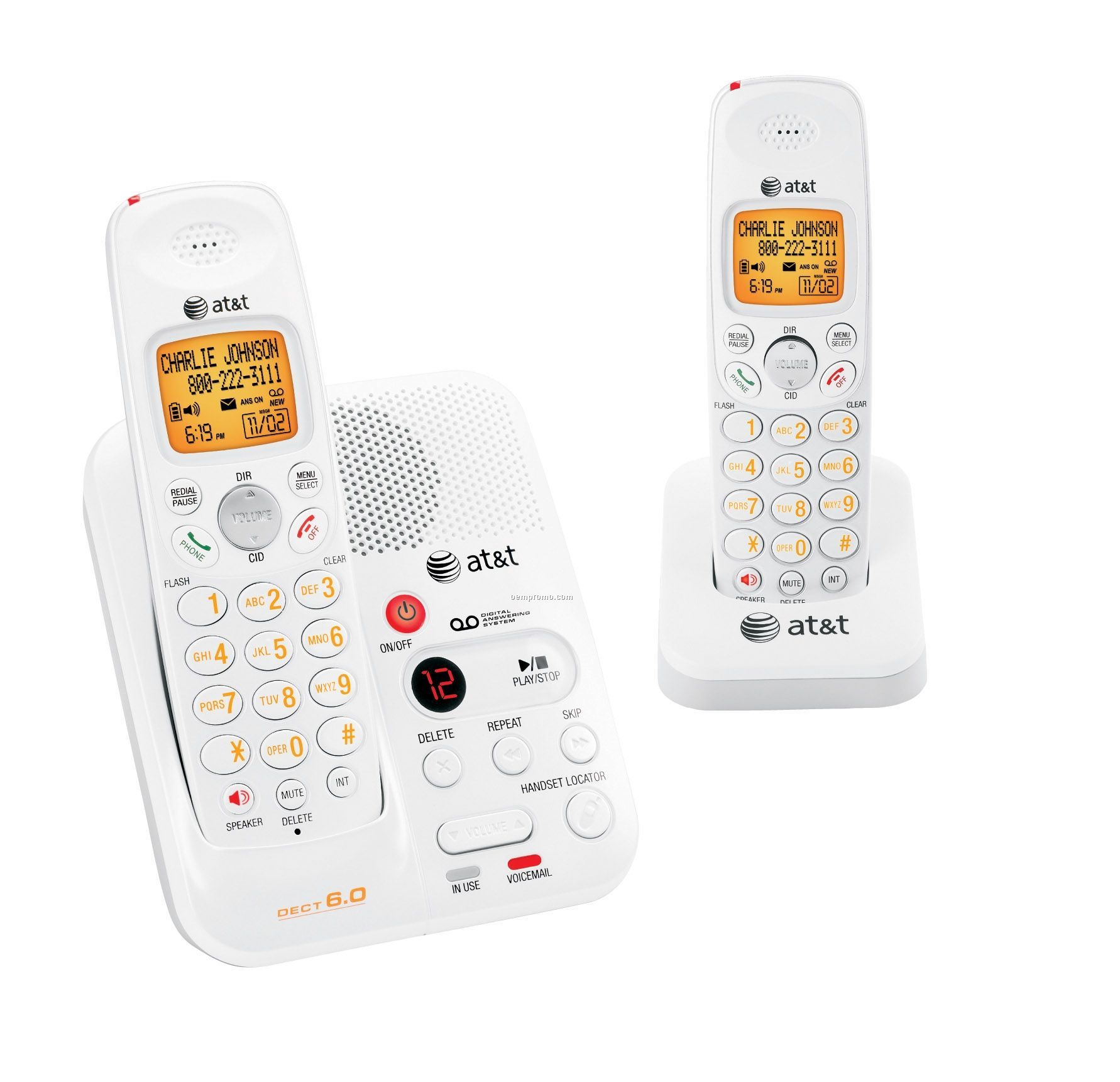 Cordless Dect Phone at Amp t Dect 6 0 Cordless Phone