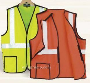 Break-away Safety Vest With Pocket