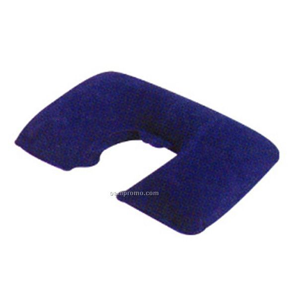 Inflatable Flocked Neck Pillow,China Wholesale Inflatable ...