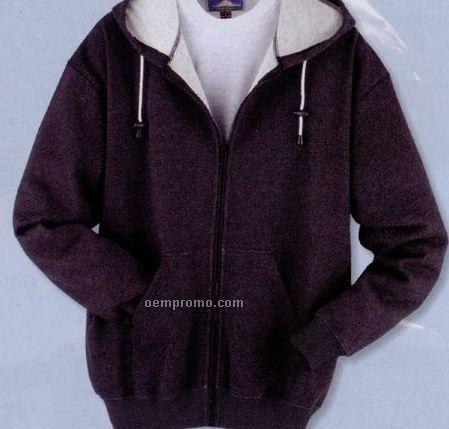 Long Sleeve Full-zip Hooded Sweatshirt