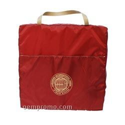 Stadium Tote Cushion With Front Stuff Pocket