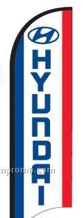 11' Street Talker Feather Flag Complete Kit (Hyundai)