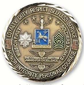 "Custom Coins / Double Sided Struck Brass Coin (1 1/2"")"